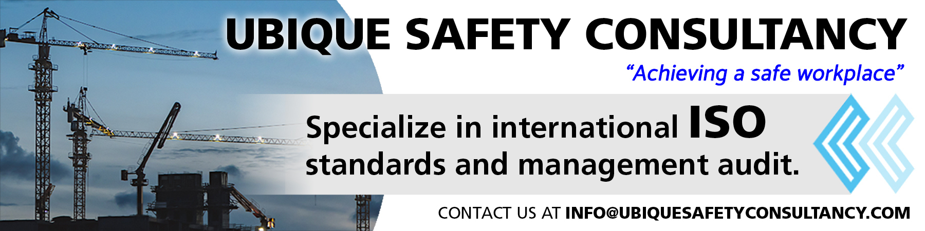 Ubique Safety Consultancy Marketplace Banner