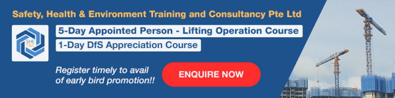 5-Day Appointed Person – Lifting Operation Course (Final)